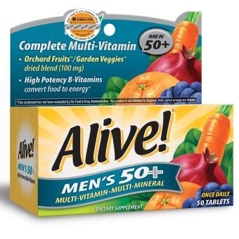 Thực Phẩm Bảo Vệ Sức Khỏe Alive! Men's 50+ 50 tabs
