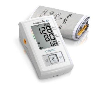 Máy đo huyết áp bắp tay Microlife A3 Basic (Trắng phối xám)