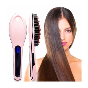 Lược điện chải thẳng tóc HQT-906 (Hồng)