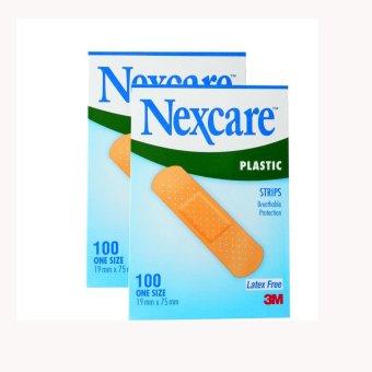 Bộ 2 Hộp Băng keo cá nhân 3M Nexcare Plastic Strips