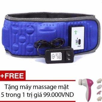 Đai mát xa giảm béo X5 + Tặng máy massage mặt 5 trong 1