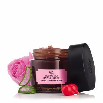 Mặt nạ dưỡng da THE BODY SHOP British Rose Fresh Plumping Mask 75ml