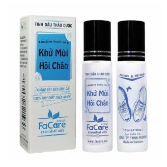 Tinh dầu khử mùi hôi chân - Deodorize Smelly Feet Essential Oil 10ml - Facare