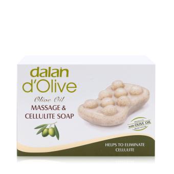 xà phòng masage điều trị rạn da DALAN d'OLIVE OIL MASSAGE & CELLULITE SOAP