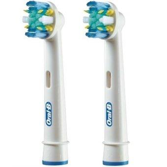 Vỉ 2 đầu bàn chải đánh răng máy Oralb BraUn EB25 Floss Action Replacement