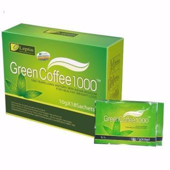 Trà Xanh Giảm Cân Green Coffee 1000 18gói.