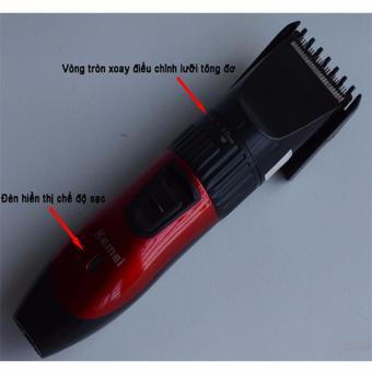 Tông đơ cắt tóc trẻ em tặng kèm bộ dụng cụ làm móng 10 món