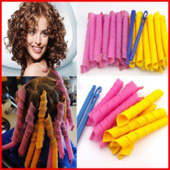 Bộ tạo kiểu tóc xoăn 18 ống Curlformer dài 10cm
