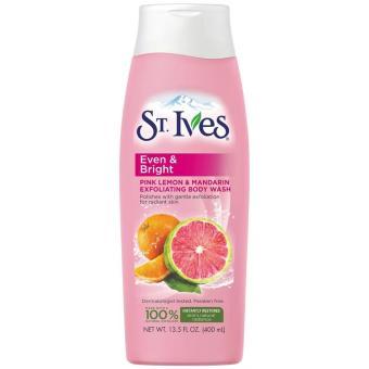 Sữa tắm làm sáng da Hương Cam Chanh St. Ives Even & Bright body wash 709ml