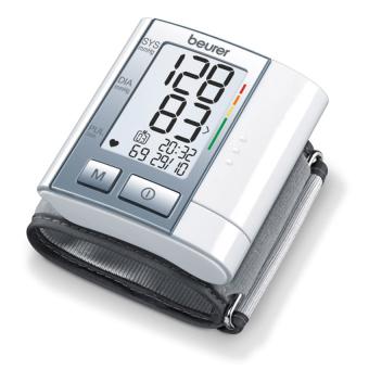 Máy đo huyết áp điện tử cổ tay Beurer BC40 (Trắng)