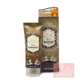 Kem chống nắng 3W CLINIC UV Snail Day Sun Cream SPF50++ 70ml