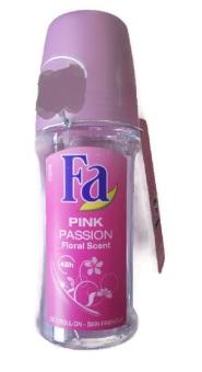 Lăn khử mùi nữ Lăn Khử Mùi FA Pink Passion Roll-on Deodorant 50ml (Đức)