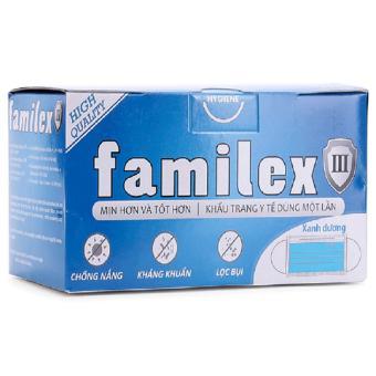 Bộ 3 hộp khẩu trang y tế Familex