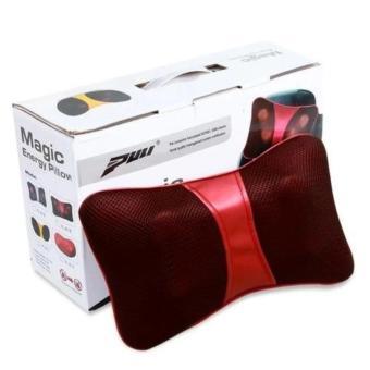 Gối mát xa hồng ngoại Massage Magic Energy Pillow 818 (Đỏ)
