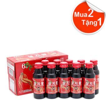 Nước hồng sâm linh chi KGS 1000ml (100ml x 10 chai)