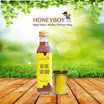 Mật Ong Sữa Chúa Honeyboy 250Ml Tặng Tinh Nghệ 40G