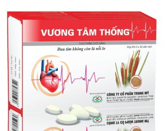 TPCN viên nén hỗ trợ điều trị bệnh mạch vành, nhồi máu cơ tim Vương Tâm Thống