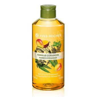 Gel tắm hương xoài và rau mùi Yves Rocher 400ml