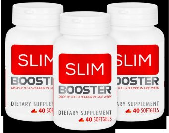 Bộ 3 hộp viên uống hỗ trợ giảm cân SlimBooster