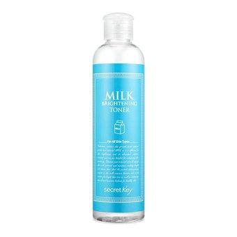 Nước hoa hồng chiết xuất sữa tươi dưỡng trắng sáng da Secret Key Milk Brightening Toner 248ml