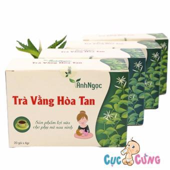 Trà Vằng Hòa Tan Ánh Ngọc - 20 túi/hộp