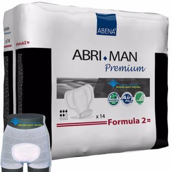 Băng Vệ Sinh Nam Abena ABRI-MAN F2 (14 miếng) + tặng Quần lót lưới Abri Fix