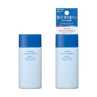 Kem Chống Nắng Shiseido Aqualabel White Protect Milk Uv Spf50 Pa++