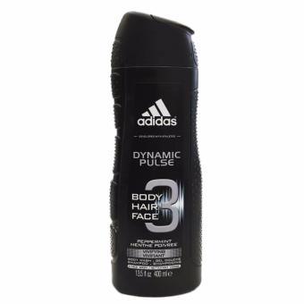 Sữa Tắm Gội 3 trong 1 Adidas Dynamic Pulse 400ml (rửa mặt, gội đầu, sữa tắm) Nhập khẩu Tây Ban Nha