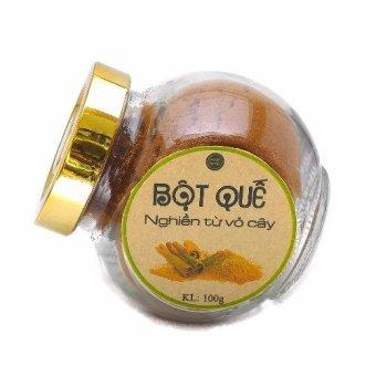 Bột Quế nguyên chất tphcm Ngọc Tuyết, 100% nghiền từ vỏ cây 100g