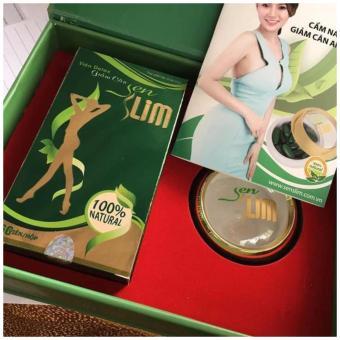 Viên Uống Thảo Mộc Detox Giảm Cân Senslim - Sen Slim (xanh lá cây)