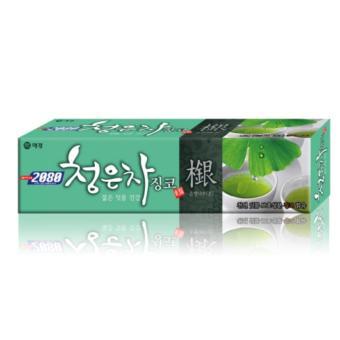 Kem đánh răng giúp răng luôn chắc khoẻ 2080 Ginkgo Hàn Quốc 130g - Hàng Chính Hãng