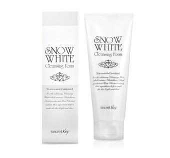 Sữa rửa mặt dưỡng trắng da Secret Key Snow White Cleansing Foam 150ml