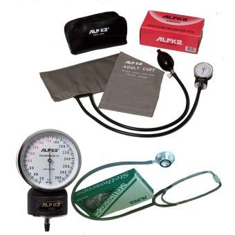 Máy đo huyết áp đồng hồ ALPK2 500V FT 801 (Xám)