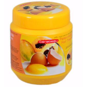 KEM Ủ TÓC Thái Lan Papaya and Egg Yolk 500ml (Đu đủ & Trứng)