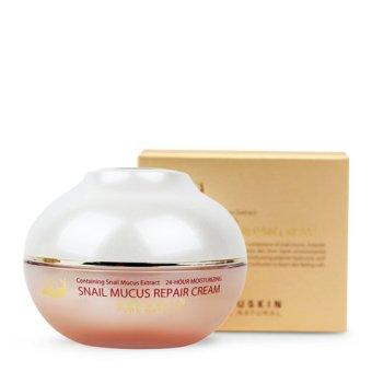 Kem dưỡng da tinh chất ốc sên Beauskin Snail Mucus Intensive Cream 50g (Hàng Chính Hãng)