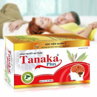 2 hộp hoạt huyết an thần Tanaka Plus của HV Quân Y