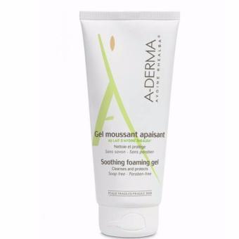 Gel vệ sinh cho da nhạy cảm (mặt và toàn thân) A-Derma Soothing Foaming Gel