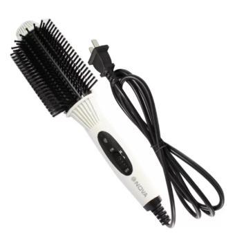 Lược điện uốn tóc Nova NHC-8810 màu trắng