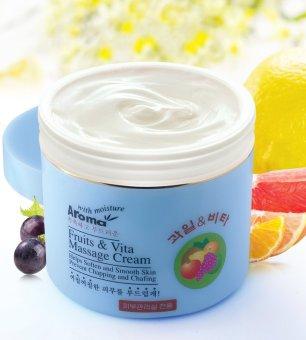 Kem massage trái cây và vitamin chống lão hoá AROMA fruit & vita massage cream 480g