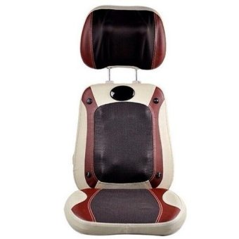 Đệm ghế massage 3D 12 bi hồng ngoại neck back