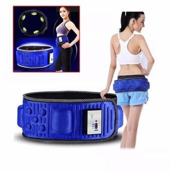 Đai massage giảm mỡ bụng X5 - GOOD090 (Xanh)