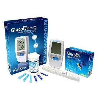 Máy đo đường huyết Gluco Dr Auto AGM 4000 (Trắng)