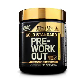 Thực phẩm bổ sung năng lượng ON Gold Pre-Workout 300g vị Pineapple