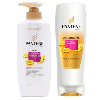 (Quà tặng không bán)Bộ dầu gội Pantene Pro-V ngăn rụng tóc 450g và dầu xả Pantene Pro-V ngăn rụng tóc 165ml