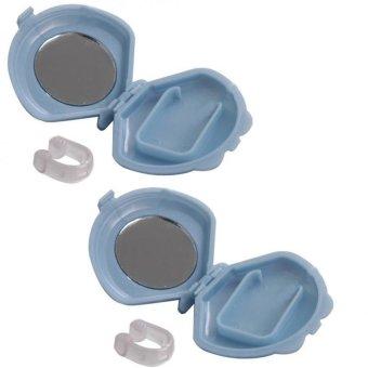 Bộ 2 kẹp mũi silicon chống ngáy