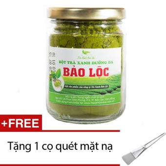 Bột trà xanh dưỡng da Bảo Lộc 100g