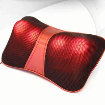Gối mát xa hồng ngoại neck pilow 956 công nghệ nhật
