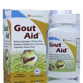 Ngăn ngừa bệnh gút đánh tan tinh thể gây đau Gout Aid 30 viên