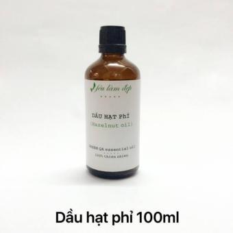 Dầu Hạt Phỉ nguyên chất 100ml, thẩm nhanh vào da, dưỡng da, dưỡng tóc, nguyên liệu làm mỹ phẩm (Mỹ)