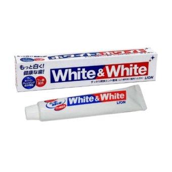Kem Đánh Răng đánh bật mảng bám và làm trắng White&White Nhật 150g